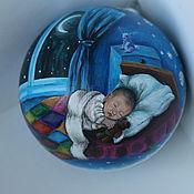 """Подарки к праздникам ручной работы. Ярмарка Мастеров - ручная работа Шар """"Колыбельные сны"""". Handmade."""
