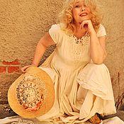 Одежда ручной работы. Ярмарка Мастеров - ручная работа Платье Бьянка. Handmade.