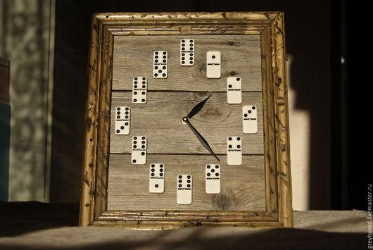 Часы для дома ручной работы. Ярмарка Мастеров - ручная работа. Купить Настенные часы из старых досок. Handmade. Комбинированный