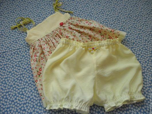Одежда для девочек, ручной работы. Ярмарка Мастеров - ручная работа. Купить КОМПЛЕКТ для девочки Малышка-2. Handmade. Лимонный