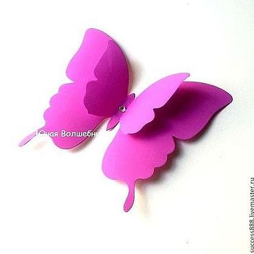 Свадебный салон ручной работы. Ярмарка Мастеров - ручная работа Сиреневые бабочки для украшения зала - оригинальное украшение. Handmade.