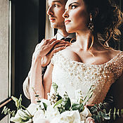 Свадебный салон ручной работы. Ярмарка Мастеров - ручная работа Свадебное Платье Анастасия. Handmade.