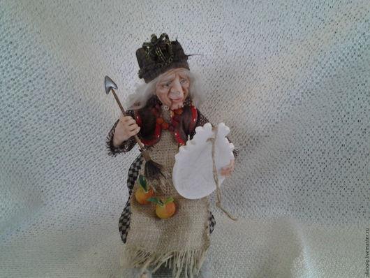 """Коллекционные куклы ручной работы. Ярмарка Мастеров - ручная работа. Купить Баба Яга ,,Не принцеса, а Королевна"""". Handmade."""