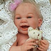 Куклы и игрушки ручной работы. Ярмарка Мастеров - ручная работа Милая Лизонька.. Handmade.