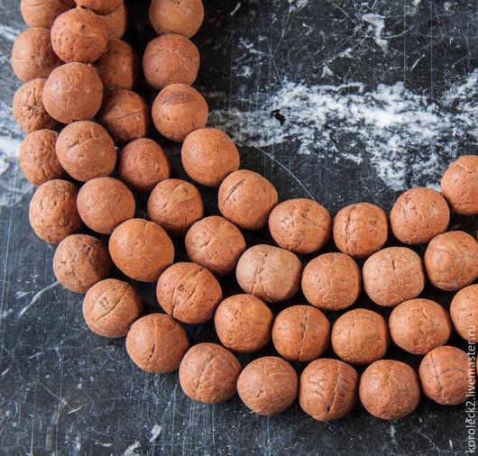 Для украшений ручной работы. Ярмарка Мастеров - ручная работа. Купить Тибетские матовые бусины из семян бодхи Глаз Феникса 14-15 мм. Handmade.