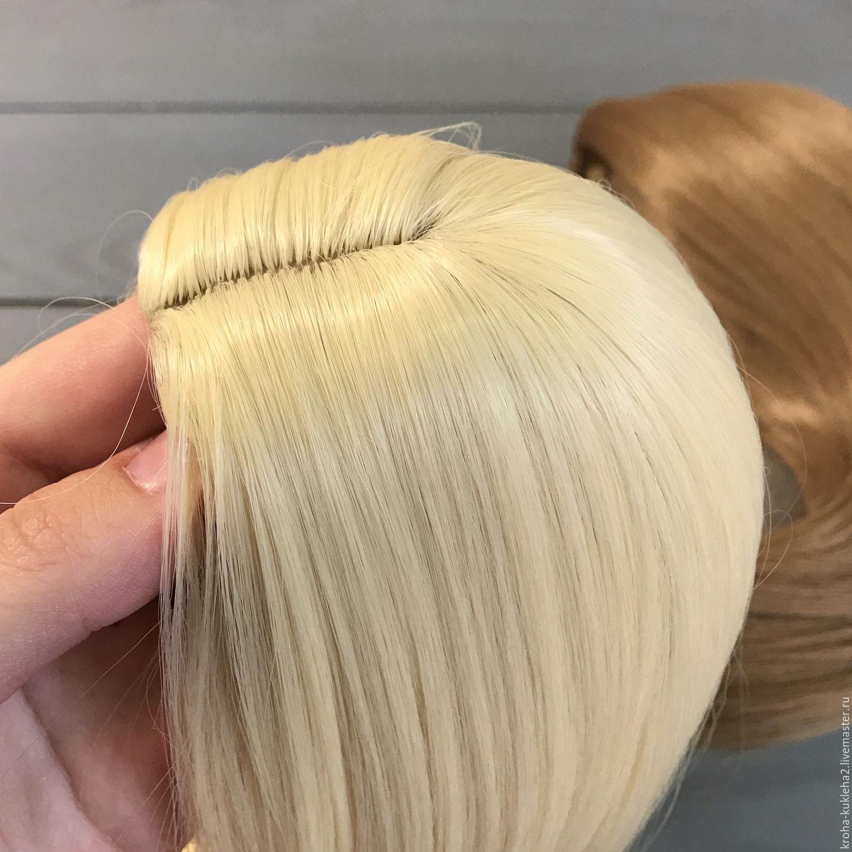 Как сделать кукле волосы ровными