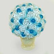 Цветы и флористика handmade. Livemaster - original item Flowers of Topaz