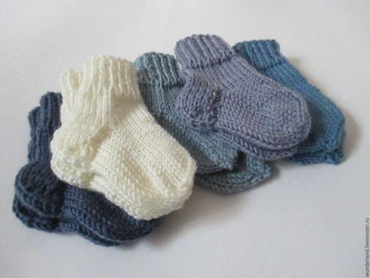 Носки, гольфы, гетры ручной работы. Ярмарка Мастеров - ручная работа. Купить Носки вязаные детям Мармеладки джинс комплект. Handmade.
