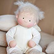 Куклы и игрушки ручной работы. Ярмарка Мастеров - ручная работа Текстильная кукла Непоседа. Handmade.