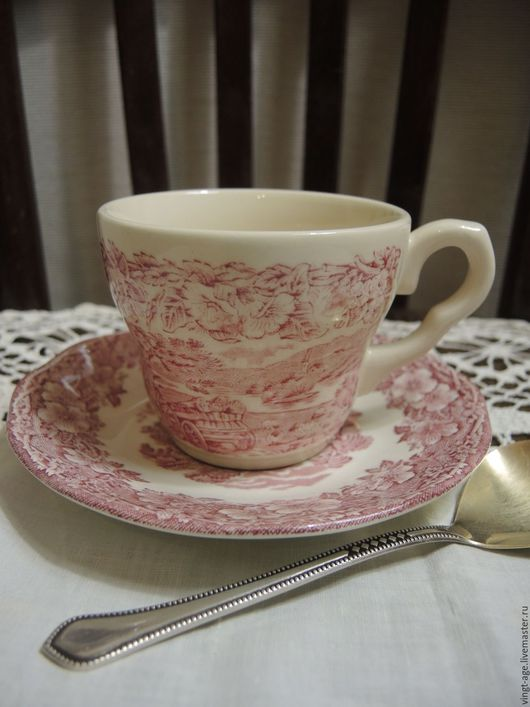 Винтажная посуда. Ярмарка Мастеров - ручная работа. Купить Чайные пары. Англия. Handmade. Кружки винтаж, фудфото, чайная пара