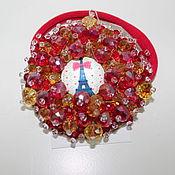 Украшения ручной работы. Ярмарка Мастеров - ручная работа Резинка для волос Paris. Handmade.