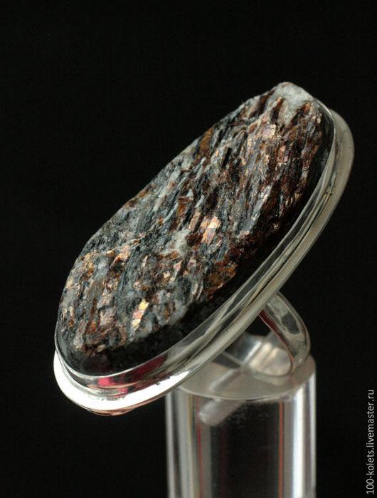 Кольца ручной работы. Ярмарка Мастеров - ручная работа. Купить Кольцо с астрофиллитом. Handmade. Комбинированный, натуральные камни