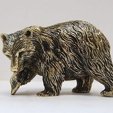 """Статуэтка """"Медведь идущий"""""""
