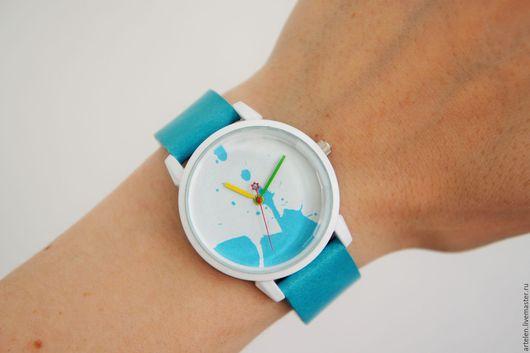 """Часы ручной работы. Ярмарка Мастеров - ручная работа. Купить Часы """"Бирюзовые"""". Handmade. Бирюзовый цвет, наручные часы, для девушки"""