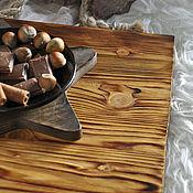 Для дома и интерьера handmade. Livemaster - original item Tray - potion Chestnut-Oak props for photo futon. Handmade.