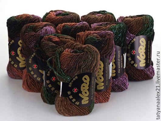 Вязание ручной работы. Ярмарка Мастеров - ручная работа. Купить Пряжа Noro Kama № 6. Handmade. Пряжа норо
