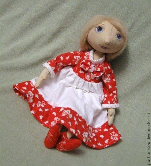 Куклы тыквоголовки ручной работы. Ярмарка Мастеров - ручная работа. Купить Текстильная кукла Оля. Handmade. Ручная работа, кукла