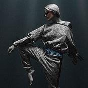 Одежда handmade. Livemaster - original item Grey Suit. Handmade.