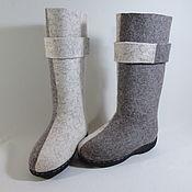 """Обувь ручной работы. Ярмарка Мастеров - ручная работа валенки женские""""Парадокс"""". Handmade."""