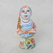 Статуэтка ручной работы. Ярмарка Мастеров - ручная работа Глафира в одуванчиках. Handmade.
