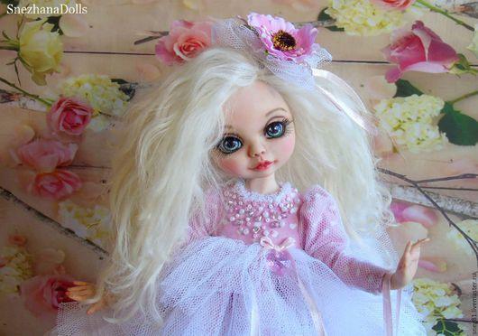Коллекционные куклы ручной работы. Ярмарка Мастеров - ручная работа. Купить MILANA  ..... Ванильно-розовое безе, воплощение любви. Handmade.