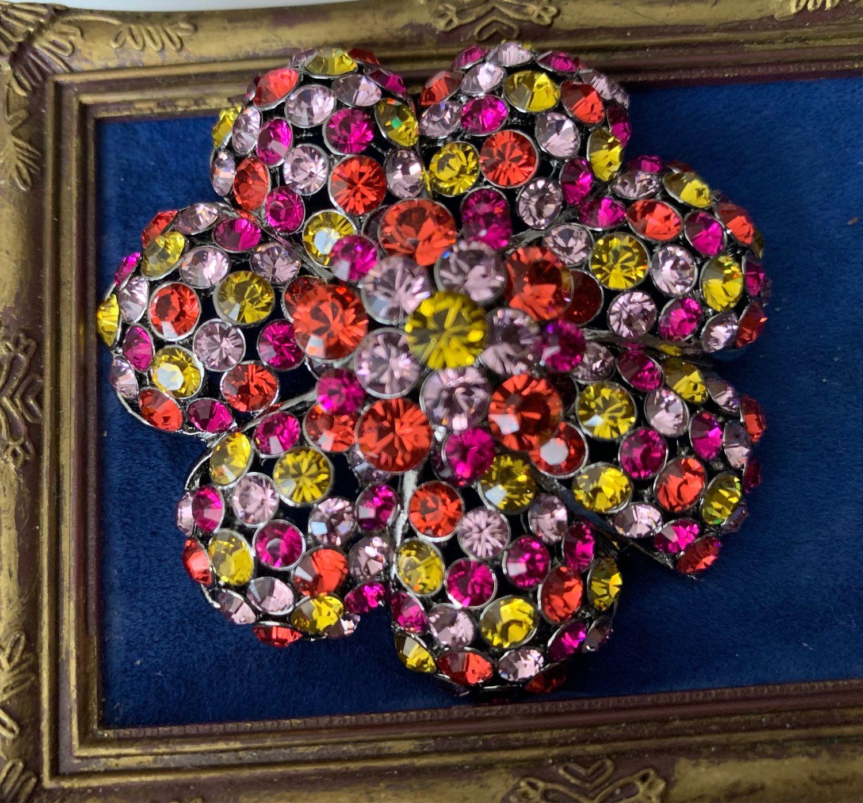 Крупная, сверкающая брошь от Joan Rivers, Брошь-булавка, Владивосток,  Фото №1