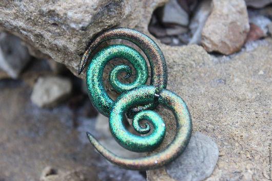 Обманки-растяжки, лже-растяжки,спирали ` с блестками, глиттерные` возможны разные цвета или переходы цвета