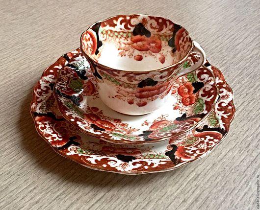 Винтажная посуда. Ярмарка Мастеров - ручная работа. Купить Старинные чайные трио от Royal Albert , Англия. Handmade. Комбинированный, для кухни