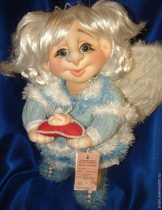 """Коллекционные куклы ручной работы. Ярмарка Мастеров - ручная работа. Купить Ангелочек """"Радостный Вестник"""". Handmade. Ангел, куклы и игрушки"""