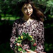 Одежда ручной работы. Ярмарка Мастеров - ручная работа Льняное летнее платье. Handmade.