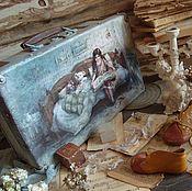 """Корзины ручной работы. Ярмарка Мастеров - ручная работа Чемодан """"Сказка на ночь"""". Handmade."""