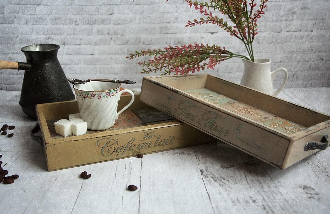 Serving tray Cafe au lait, Trays, Khimki,  Фото №1