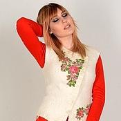 Одежда handmade. Livemaster - original item Vest OLESYA. Handmade.