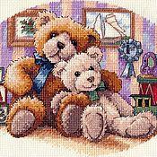 Картины и панно handmade. Livemaster - original item Embroidered picture of