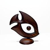 """Для дома и интерьера ручной работы. Ярмарка Мастеров - ручная работа Статуэтка """"Рыбка-удача"""". Handmade."""