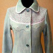 Одежда ручной работы. Ярмарка Мастеров - ручная работа Жакет валяный в русском стиле. Handmade.