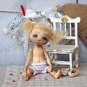Куклы и игрушки ручной работы. Ярмарка Мастеров - ручная работа Куколка игрательная АНГЕЛ КРУЖЕВНОЙ. Handmade.