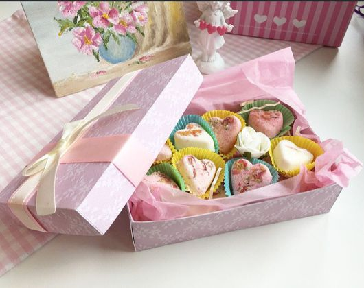 Candy Gifts. Набор бомбочек для маникюра ` Желание`