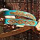 Order Women's leather belt handmade. schwanzchen. Livemaster. . Straps Фото №3