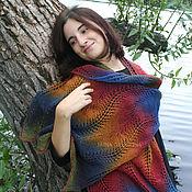 Аксессуары handmade. Livemaster - original item Rainbow stole made of wool. Handmade.