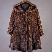 Одежда handmade. Livemaster - original item Cardigan knitted of mink POM-POM. Handmade.