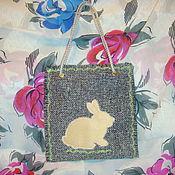 Подарки к праздникам ручной работы. Ярмарка Мастеров - ручная работа Сумочка для пасхального подарка. Handmade.