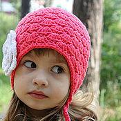 Работы для детей, ручной работы. Ярмарка Мастеров - ручная работа Коралловая шапочка. Handmade.