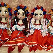 Куклы и пупсы ручной работы. Ярмарка Мастеров - ручная работа Кукла текстильная сувенирная в национальном Украинском костюме. Handmade.