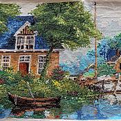 Картины и панно ручной работы. Ярмарка Мастеров - ручная работа Тихая гавань. Handmade.