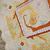 """Для дома и интерьера ручной работы. Ярмарка Мастеров - ручная работа Детское лоскутное одеяло """"Здравствуй, маленькое солнышко"""".. Handmade."""