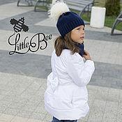 Работы для детей, ручной работы. Ярмарка Мастеров - ручная работа Осенне-весеннее пальто для девочки. Handmade.