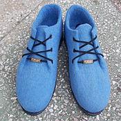 Обувь ручной работы. Ярмарка Мастеров - ручная работа Туфли валяные. Handmade.