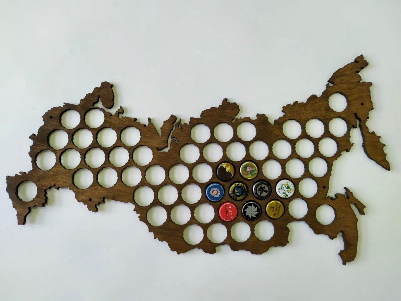 Карта копилка для пивных крышек, Копилки, Москва,  Фото №1