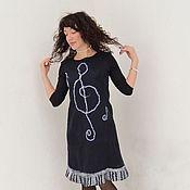 Одежда handmade. Livemaster - original item Dress (felt)